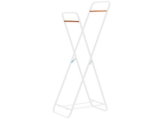 Kleiderständer Scandic IIi 66cm Weiss - Weiß, MODERN, Kunststoff/Metall (66/153/43cm)
