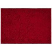 Badematte Liliane - Bordeaux, KONVENTIONELL, Textil (60/90cm) - Ombra