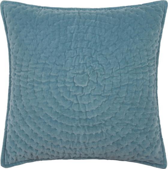 Polštář Ozdobný Sandra - modrá, textil (45/45cm) - Mömax modern living