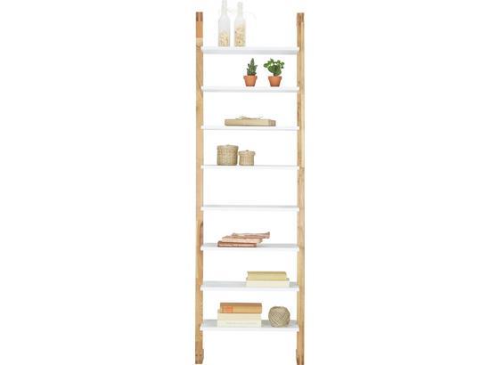 Regál Durham - bílá/barvy dubu, Moderní, dřevo/kompozitní dřevo (55/180cm) - Mömax modern living