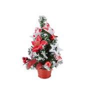 Dekobaum Silvie - Rot/Weiß, KONVENTIONELL, Kunststoff (30,5cm) - Ombra