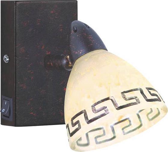 Spotlámpa Roma - rozsda színű, konvencionális, üveg/fém (13/12cm) - LANDSCAPE
