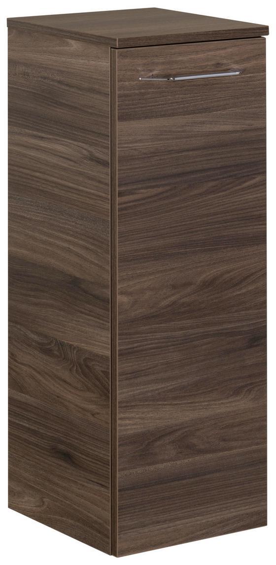 Midischrank B.clever 30,5 cm Ulme - Ulmefarben, MODERN, Glas/Holzwerkstoff (30,5/81/32cm) - Fackelmann