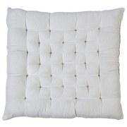 Sitzkissen Agatha - Creme, KONVENTIONELL, Textil (40/40/6cm) - OMBRA
