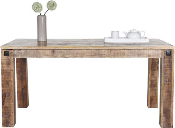 Jídelní Stůl Industry - přírodní barvy, Basics, dřevo (160/76/90cm) - James Wood