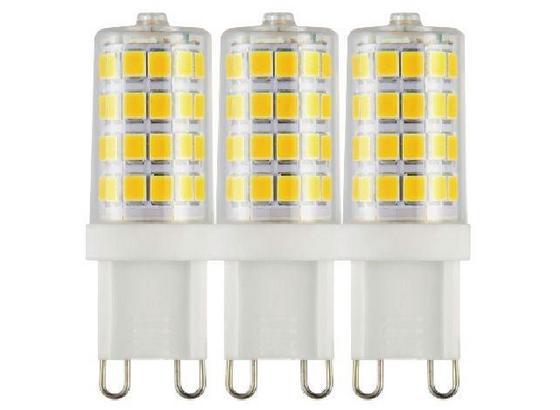 LED-Leuchtmittel Warmweiß - Klar, Basics, Glas/Kunststoff (1,5/5,2cm)