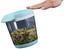 Schüttdose Bruni 1,5 Liter - Klar/Weiß, KONVENTIONELL, Kunststoff (16,5/14,5/17cm)