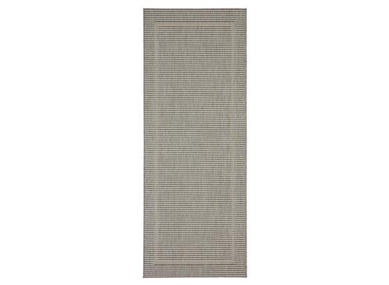 Hladko Tkaný Koberec Kanada 1 - sivá, Moderný, textil (080/200cm) - Modern Living
