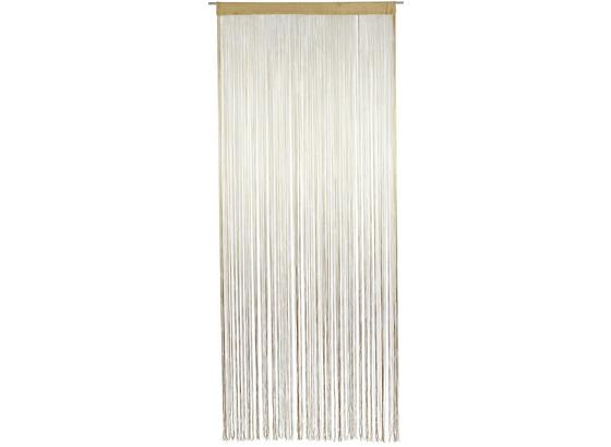 Fadenstore Marietta ca. 90/245cm - Naturfarben, KONVENTIONELL, Textil (90/245cm) - Ombra
