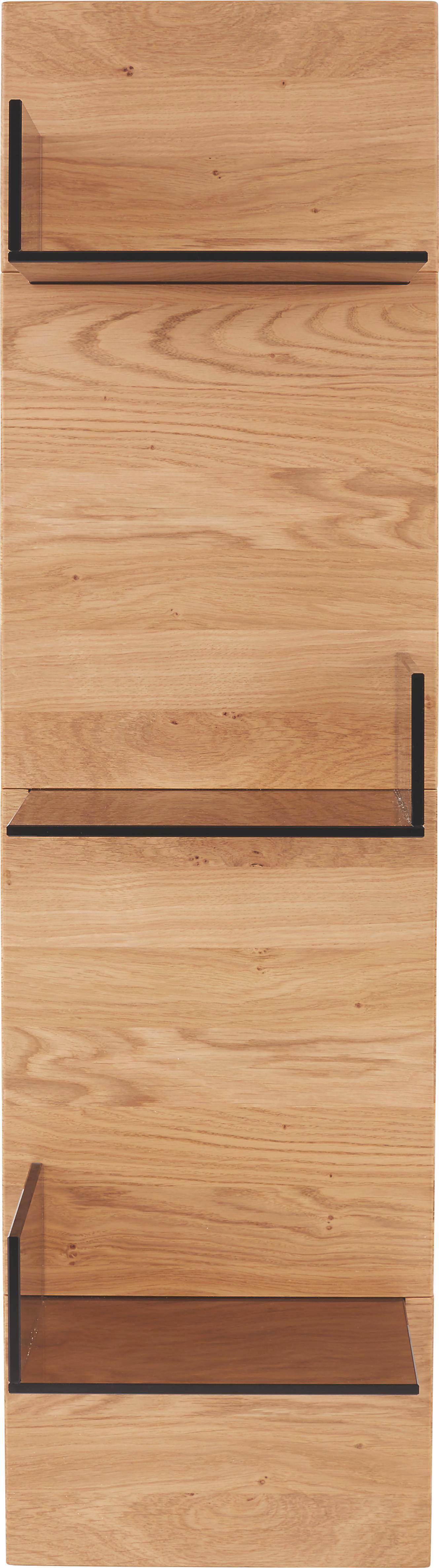 Falipolc Pure - modern, üveg/faanyagok (29/116/21cm)