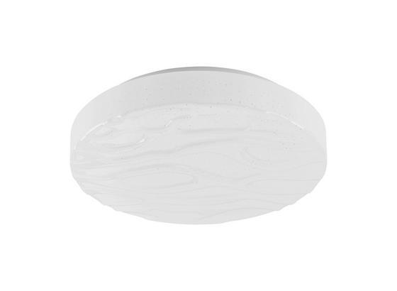 Stropní Led Svítidlo Ernie Ø 28cm,  12 Watt - bílá, Konvenční, kov/umělá hmota (28/8cm) - Mömax modern living