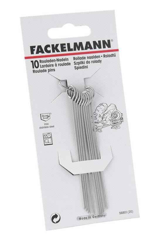 Nyárs 10cm - ezüst színű, konvencionális, fém (10 cm)