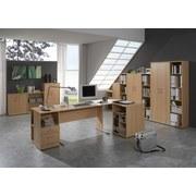 Aktenregal Serie 200 B: 65,1 cm Buche - Buchefarben, Basics, Holzwerkstoff (65,1/110,9/34,5cm) - MID.YOU