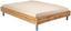 Futonbettrahmen Belia, 160x200 cm - Eichefarben/Alufarben, KONVENTIONELL, Holzwerkstoff (160/200cm)