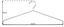 Sada Ramínek Na Šaty Brunni-5     -sb- - barvy chromu, Design, kov (42/18cm) - Carryhome