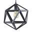 Závesná Lampa Asti - čierna, Moderný, kov/plast (35/35/125cm) - Mömax modern living