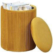 Hocker Salim Curry B: 35 cm - Currygelb, Basics, Holzwerkstoff/Textil (35/44/35cm) - MID.YOU