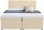 Boxspringbett Luminosa Beige 180x200 - Beige/Schwarz, MODERN, Textil (193/121/212cm)