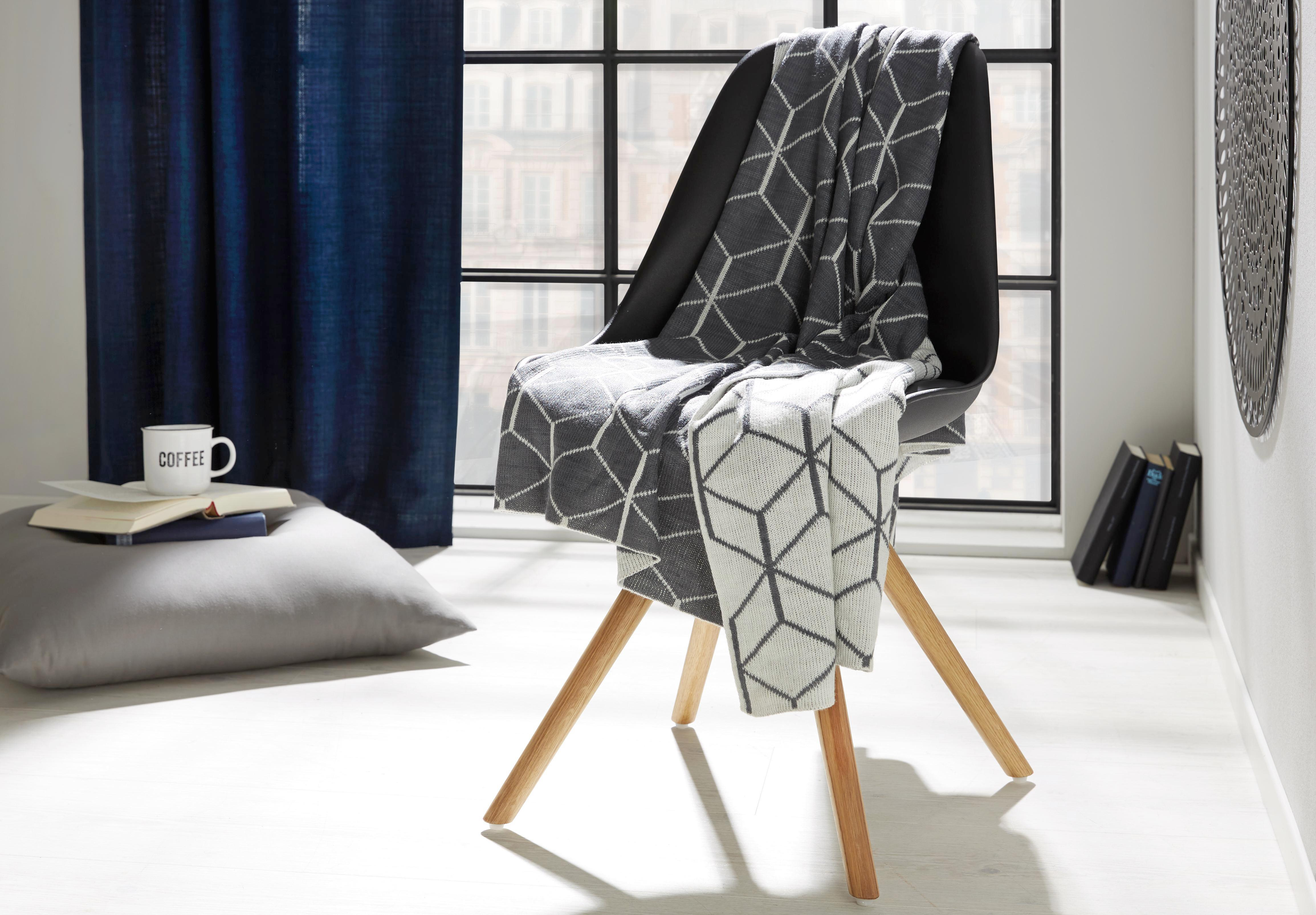 Polštář Ozdobný Bigmex - šedá, textil (60/60cm) - MÖMAX modern living