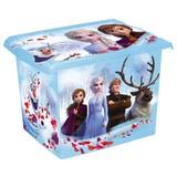 Box mit Deckel Frozen II - Blau, Basics, Kunststoff (39/29/27cm)