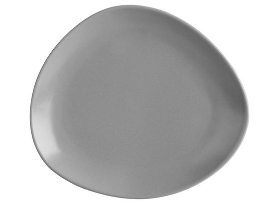 Dezertný Tanier Nele - sivá, Moderný, keramika (21/19/2,3cm) - Premium Living