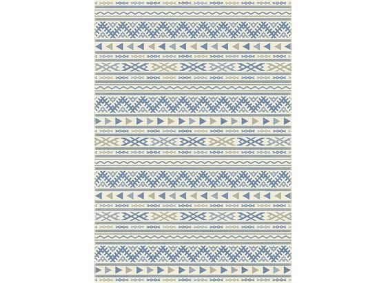 Hladko Tkaný Koberec Kelim 1 - prírodné farby/modrá, Moderný, textil (80/250cm) - Mömax modern living