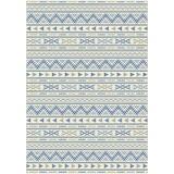 Hladko Tkaný Koberec Kelim 3 - prírodné farby/modrá, Moderný, textil (160/230cm) - Mömax modern living