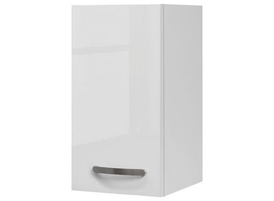 Kuchyňská Horní Skříňka Alba  H 30 - bílá, Moderní, kompozitní dřevo (30/54/32cm)