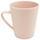 Hrnček Na Kávu Anabel - ružová, Natur, plast/prírodné materiály (8,5/9,5cm) - Zandiara