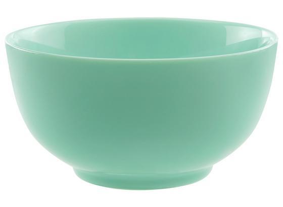 Miska Na Müsli Alexis - mátově zelená, Romantický / Rustikální, sklo (14,5/7,9cm) - Mömax modern living