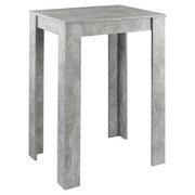 Bartisch Nika L: ca. 80 cm Grau - Grau, MODERN, Holzwerkstoff (80/60/104cm) - MID.YOU