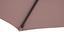 Sonnenschirm Riga - Taupe/Dunkelgrau, MODERN, Textil/Metall (270/245cm) - Ombra