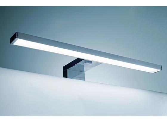 Aufbauleuchte für Badezimmer Slim - Chromfarben, KONVENTIONELL, Kunststoff (20/5,5/13cm)