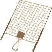 Abstreifgitter Metall - Silberfarben, KONVENTIONELL, Metall (26/30cm)