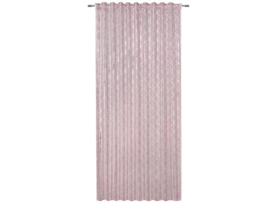 Záves Agnes - jadeitovozelená/biela, Konvenčný, textil (140/245cm) - Mömax modern living