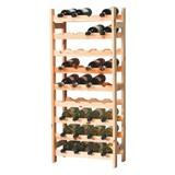 Weinregal Vino 36 Flaschen Kiefer - Kieferfarben, KONVENTIONELL, Holz (43/119/25cm)