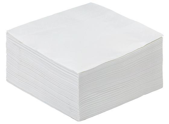 Ubrousek Kamilla*cenový Trhák* - bílá, papír (40/40cm) - Based