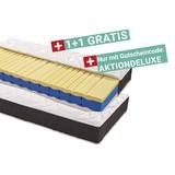 Viscomatratze Visco Deluxe H2 90x200 - Weiß, KONVENTIONELL, Textil (200/90/22cm) - Primatex Deluxe