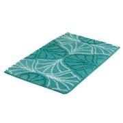 Badteppich Bloom, 90x60cm - Grün, MODERN, Textil (90/60/2cm) - Kleine Wolke
