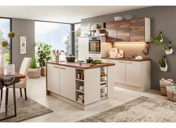 97b7ac45a149 Vestavná Kuchyň Santiago colorconcept - barvy dubu barvy jasanu (270 156cm)