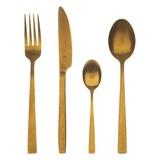 Besteckset Bg-5317-Gd 24-Tlg. Goldfarben - Goldfarben, Basics, Metall (0.98kg)
