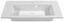 Waschbecken Denia - Weiß, MODERN (90/16/46cm)
