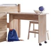Jugendschreibtisch Kim - Naturfarben, Design, Holz/Kunststoff (50/94/70cm) - MID.YOU