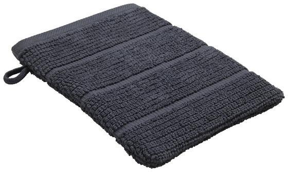 Žínka Anna - antracitová, textil (16/21cm) - Mömax modern living