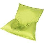 Sitzsack Outdoor XL Grün, 170x130 cm - Weiß/Grün, MODERN, Textil (170/130/40cm) - Ombra