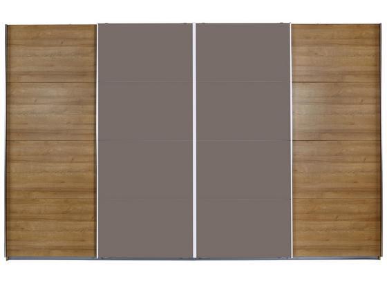 Skříň S Posuvnými Dveřmi Bensheim - barvy dubu, Moderní, kompozitní dřevo (361/230cm) - James Wood