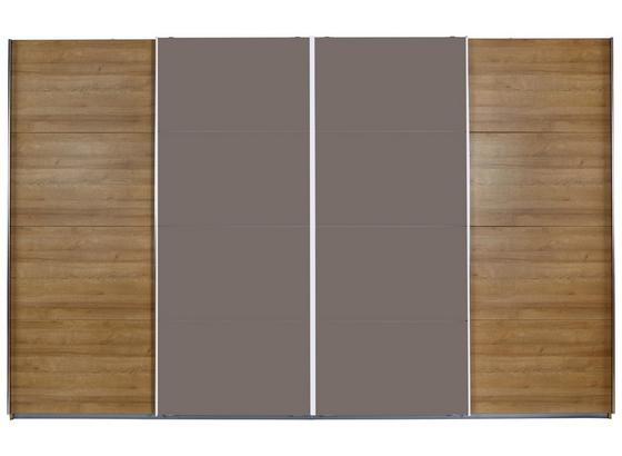 Skriňa S Posuvnými Dverami Bensheim - farby dubu, Moderný, kompozitné drevo (361/230cm) - James Wood