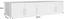 Aufsatzschrank zu Kleiderschrank Wien, 226cm - Eichefarben/Weiß, KONVENTIONELL, Holzwerkstoff (226/39/54cm)