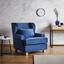 Tv Kreslo Matteo - modrá, Moderní, dřevo/textilie (86/86/90cm) - Mömax modern living