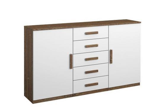 Komoda Bernau - Moderní, dřevěný materiál (149/86/37cm)